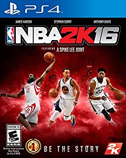 NBA 2K16 - PlayStation 4 (B00XWE60G4)   Amazon price tracker / tracking, Amazon price history charts, Amazon price watches, Amazon price drop alerts