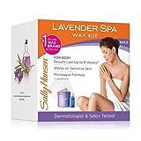 Sally Hansen Lavendar Spa Wax Hair Removal Kit for Body Legs Arms and Bikini