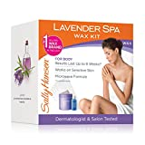 remover in spanish Sally Hansen Lavender Spa Wax Hair Removal Kit for Body Legs Arms and Bikini