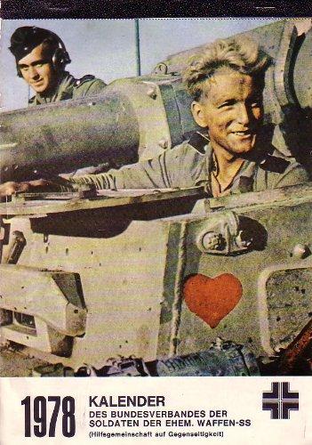 1978 Kalender Des Bundesverbandes derr Soldaten der Ehem. Waffen-SS (Poster Ss Waffen)