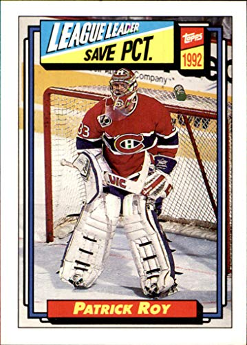 1992-93 Topps #491 Patrick Roy MONTREAL CANADIENS