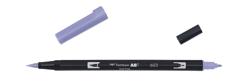 Tombow ABT-N15 Feutre pinceau à 2 pointes Noir AB-TN15
