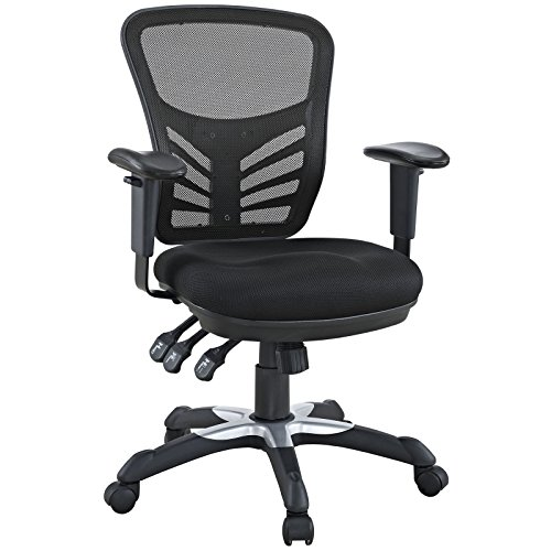 Modway Articulate Black Mesh Office Chair by Modway