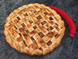 Siliconezone SZ07KS-10619AL Pie Crust Shields, Red