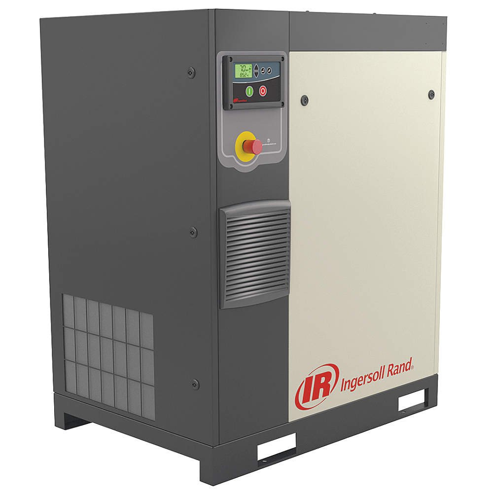 Ingersoll-Rand - R7.5I-A125/80-230-3 - 3-Phase 10 HP Rotary Screw Air Compressor with 80 gal. Tank Size: Amazon.com: Industrial & Scientific