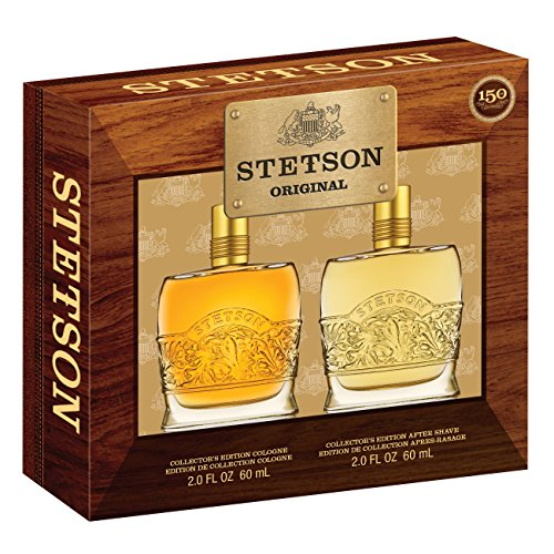 (Stetson Original Decanter 2 Piece Gift Set Gift Set (2 Ounce Aftershave Plus 2 Ounce Cologne Pour))