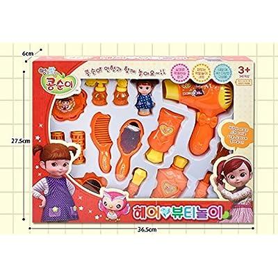 KONGSUNI Hair Beauty Makeup Role Play Toy Set: Toys & Games