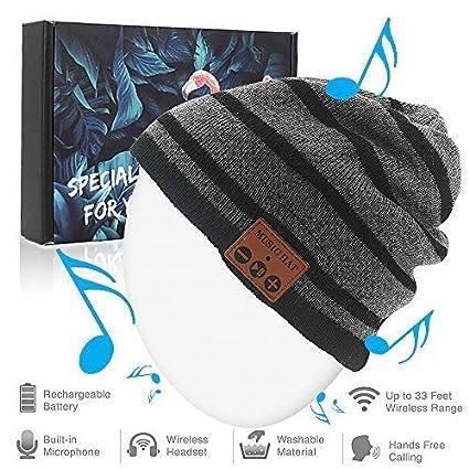 Amazon.com  Bluetooth Beanie Hat 061c58781bc