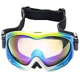 Jimmy Orange Professional Ski Goggles Polarized Men Womens Skiing Goggles Snowboard Biker Goggles Sports Glasses Anti-fog Protection Adjustable Straps JO-HXJ