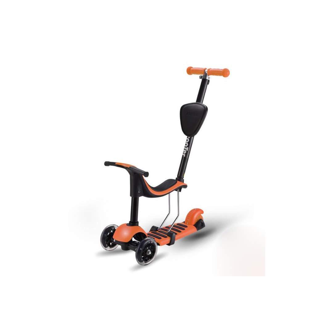 お気に入りの TLMYDD x 子供のスクーターオールインワンは、3輪フラッシュPUホイールスクーター、26 x 55 x 81 Orange (色 cmを押すことができます 子供スクーター (色 : Pink) B07NRQR21Z Orange Orange, 松戸市:3d20b0be --- a0267596.xsph.ru