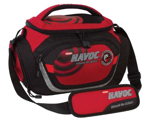 Cheap Berkley Havoc Tackle Bag, 18.7-Liter Storage, Red