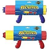 Foam Blaster Water Gun Squirter Beach Garden Kids Children Toy Assorted Colours
