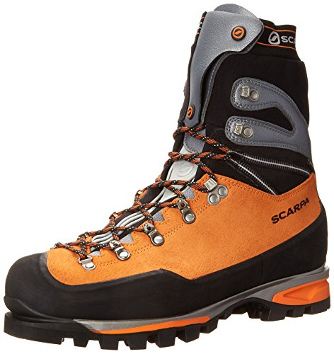 Scarpa Men's Mont Blanc Pro GTX Mountaineering Boot, Orange, 46 EU/12 M US by SCARPA