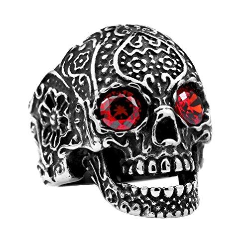 Skull Red Eyes - 8