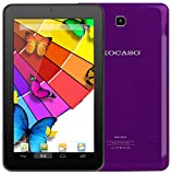 KOCASO MX790 [7 INCH] [Android 5.1] Tablet PC- (Quad Core, 8GB Built-In-Memory, Dual Camera, 1024600 WiFi MicroSD Card Slot Micro USB) FREE Earbuds Screen Protector Stylus Pen Carrying Pouch- Purple