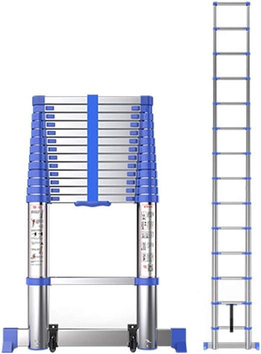 ALYR Aluminio Escalera Telescópica, Telescópica Escalera ...