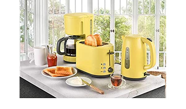 Juego de 3 piezas para desayuno, cafetera de filtro, hervidor de ...