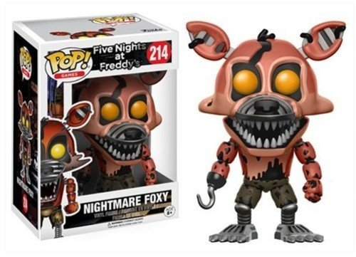Funko POP Games Five Nights at Freddy's Nightmare Foxy Action Figure]()