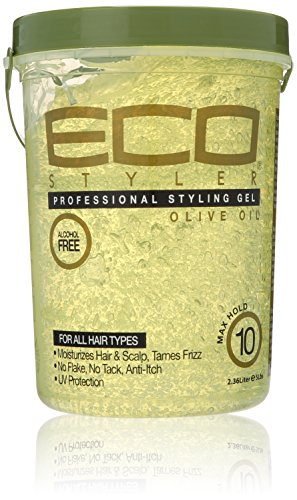 Gel Olive (ECOCO Eco Style Gel, Olive Oil, 80 Ounce)