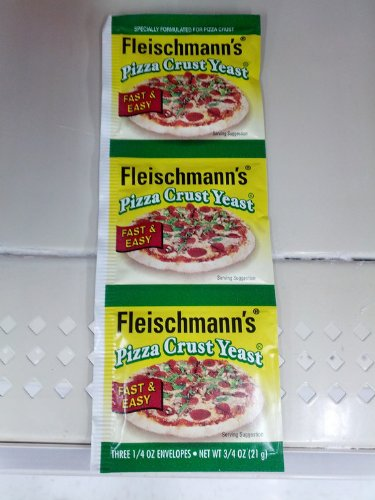 Fleischmann's Pizza Crust Yeast, Specially Formulated For Pizza Crust, 0.75 oz (Pack of 6) by ACH FOOD COMPANIES INC