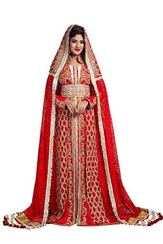 palasfashion femmes de crêpe pour mariage avec veilred