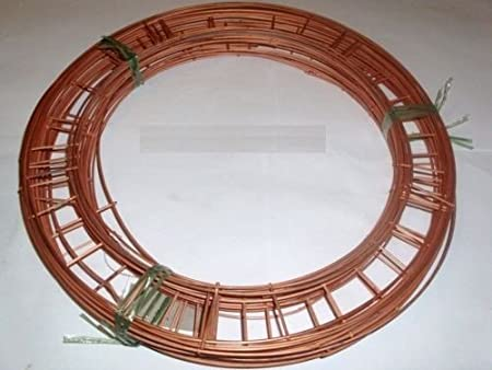 CHOICE OF Quantity floral supplies 16 FLAT WIRE CHRISTMAS WREATH RING FRAMES 2 x 16 Wire Rings