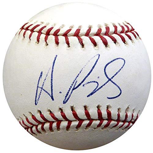 Albert Pujols Autographed Official MLB Baseball Cardinals, Angels Vintage Beckett BAS #A88605
