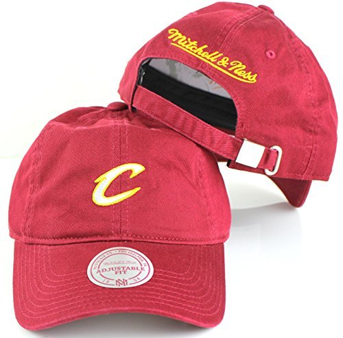 Lebron James Usa Jersey - Cleveland Cavaliers NBA Mitchell & Ness Cotton Adjustable Backstrap Dad Hat