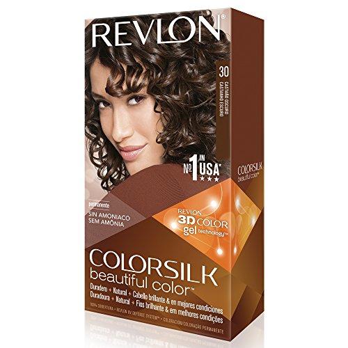 Revlon ColorSilk Permanent Color Brown