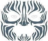 Tinsley Transfers  Tribal Zebra, Flesh/Multi, One Size