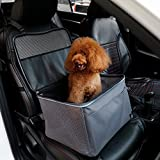 Cheap A4Pet Portable Dog Car Seat Travel Carrier Bag with Safety Leash and Cozy Pad