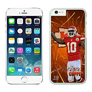 Kansas City Chiefs Terrance Copper iPhone 6 Plus NFL Cases White 5.5 Inches NIC12661