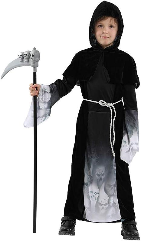 Black 120 ANSUN Kids Bodysuit Costumes Halloween Cosplay Costumes 5-7yrs