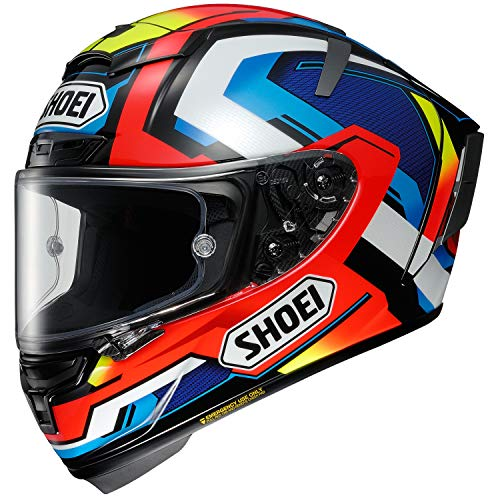 Shoei X-14 Brink Sports Bike Racing Motorcycle Helmet - TC-1 / Medium