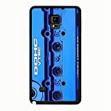 Samsung Galaxy Note 4 Phone Case Elegant Blue cover Dohc vtec honda Wonderful cover for Samsung Galaxy Note 4 Dohc vtec honda