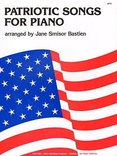 All American Patriotic Songbook - WP21 - Patriotic Songs For Piano