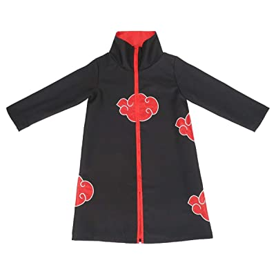 COSAUG Akatsuki Cloak for Children Cosplay Costume: Clothing