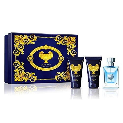 Versace Pour Homme Men's 3 Piece Gift Set