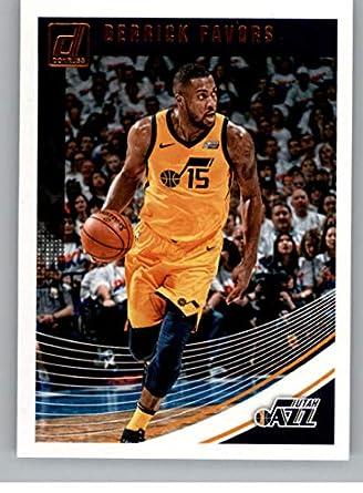 584ea1a05825d Amazon.com: 2018-19 Donruss Basketball #83 Derrick Favors Utah Jazz ...