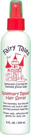 Fairy Tales Rosemary Repel Hair Spray, 8 oz Pack of 3