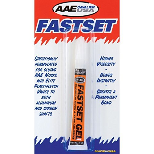 New Arizona Archery Glue Fastset Gel 3 Gram For Nocks & Vanes AAE