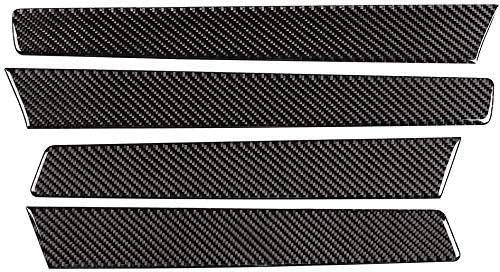 自動車用ソフトカーボンファイバー製インテリアドアトリムストリップに適していますフォルクスワーゲントゥアレグ2011-2018