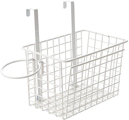 Amazon Com Yardwe Over The Cabinet Door Basket Kitchen Storage