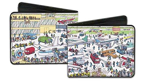 Where's Waldo? - Airport Scene - Bi-Fold (Wizard Whitebeard)