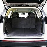 HCMAX Dog Vehicle Cargo Liner Cover Pet Seat Cover Bed Floor Mat Nonslip Waterproof Universal for Car SUV Truck Jeeps Vans Black