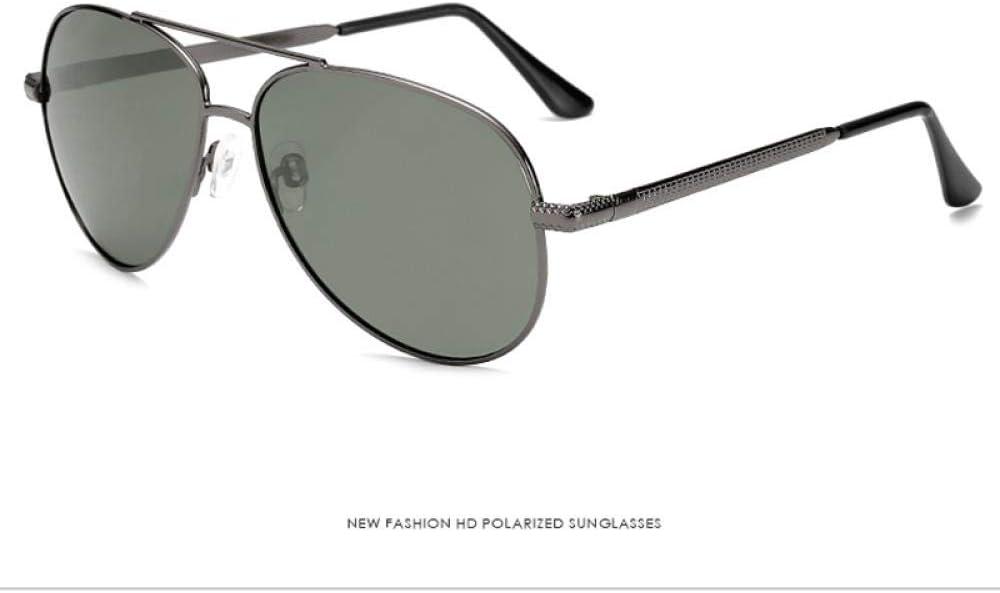 Gafas De Sol Gafas De Sol De Metal Piloto Gafas De Sol De Conducción Polarizadas Gafas De Sol para Hombre Gafas De Sol Uv400 Gafas De Sol para La Seguridad del Conductor