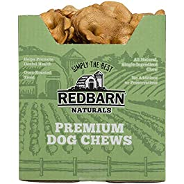 Redbarn – Pig Snouts Pet Treats Dog Supplies 50 Pieces In The Case