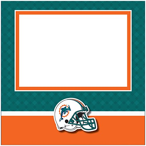 C.R. Gibson Scrapbook Complete Kit, Small, Miami Dolphins (N878440M)]()