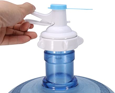Manual 5 Gallon Bottle Jug Pump Drinking Water Spout Dispenser w//Dustproof Cap o