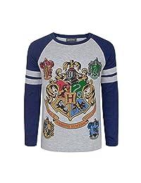 Harry Potter Hogwarts Boy's Raglan T-Shirt
